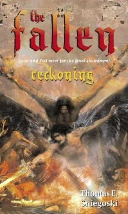 Bestselling Sci-Fi/ Fantasy (2006) - Reckoning (The Fallen) by Thomas E. Sniegoski