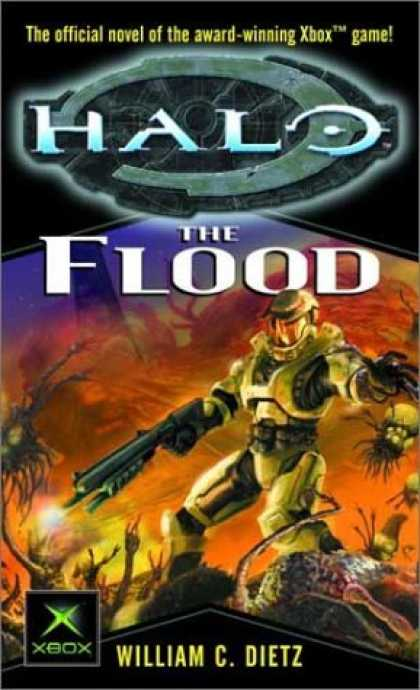 Bestselling Sci-Fi/ Fantasy (2006) - The Flood (Halo) by William C. Dietz