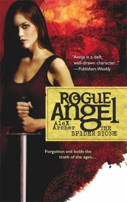 Bestselling Sci-Fi/ Fantasy (2006) - The Spider Stone (Rogue Angel) by Alex Archer