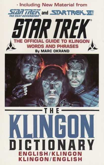Bestselling Sci-Fi/ Fantasy (2006) - The Klingon Dictionary (Star Trek) by Marc Okrand