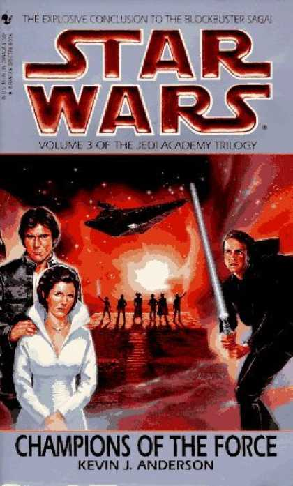 Bestselling Sci-Fi/ Fantasy (2006) - Champions of the Force (Star Wars: The Jedi Academy Trilogy, Vol. 3) by Kevin An