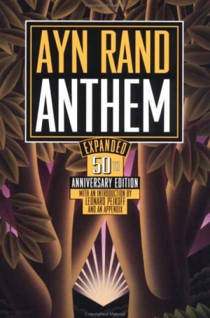 Bestselling Sci-Fi/ Fantasy (2006) - Anthem by Ayn Rand