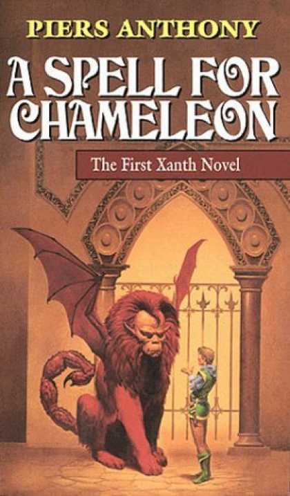 Bestselling Sci-Fi/ Fantasy (2006) - A Spell for Chameleon (Xanth Novels (Paperback)) by Piers Anthony