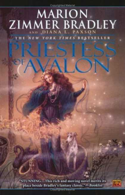Bestselling Sci-Fi/ Fantasy (2006) - Priestess Of Avalon by Marion Zimmer Bradley