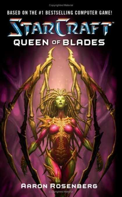 Bestselling Sci-Fi/ Fantasy (2006) - Queen of Blades (Starcraft) by Aaron Rosenberg