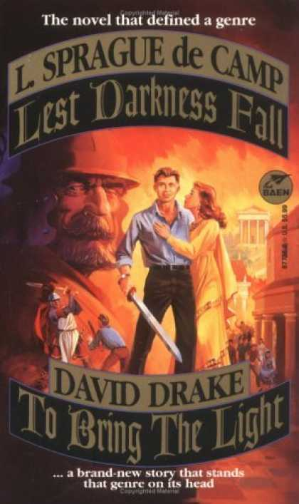 Bestselling Sci-Fi/ Fantasy (2006) - Lest Darkness Fall & Bring the Light by Decamp & drake