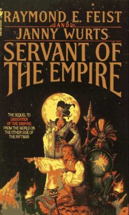 Bestselling Sci-Fi/ Fantasy (2006) - Servant of the Empire by Raymond E. Feist
