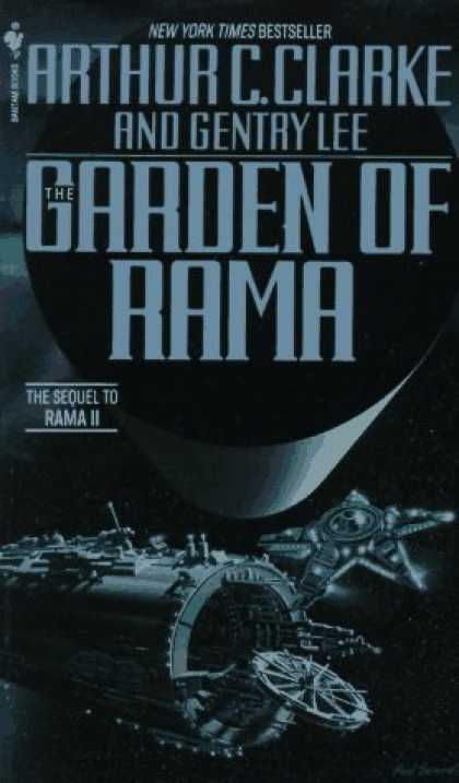 Bestselling Sci-Fi/ Fantasy (2006) - The Garden of Rama by Arthur C. Clarke