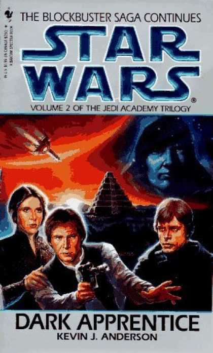 Bestselling Sci-Fi/ Fantasy (2006) - Dark Apprentice (Star Wars: The Jedi Academy Trilogy, Vol. 2) by Kevin Anderson