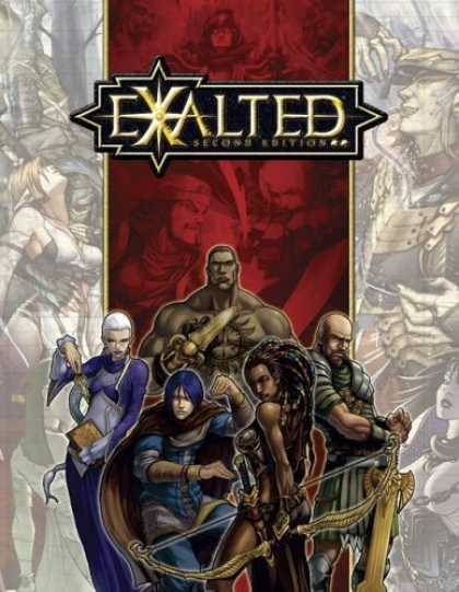 Bestselling Sci-Fi/ Fantasy (2006) - Exalted, Second Edition by Alan Alexander