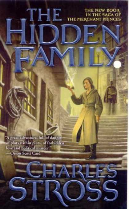 Bestselling Sci-Fi/ Fantasy (2006) - The Hidden Family: Book Two of Merchant Princes by Charles Stross