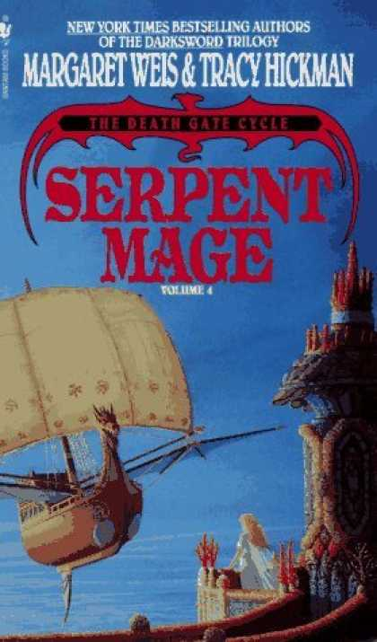 Bestselling Sci-Fi/ Fantasy (2006) - Serpent Mage (The Death Gate Cycle, Vol 4) by Margaret Weis