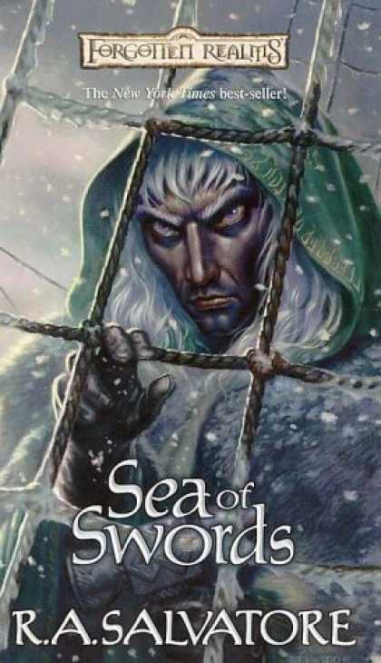 Bestselling Sci-Fi/ Fantasy (2006) - Sea of Swords (Forgotten Realms: Paths of Darkness) by R. A. Salvatore