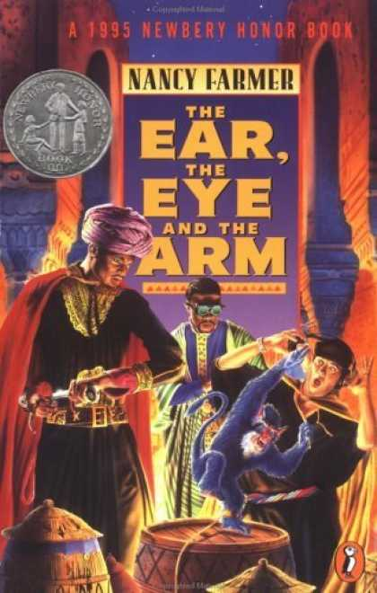 Bestselling Sci-Fi/ Fantasy (2006) - The Ear, the Eye, and the Arm by Nancy Farmer