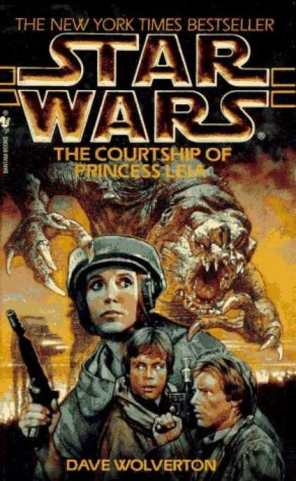 Bestselling Sci-Fi/ Fantasy (2006) - The Courtship of Princess Leia (Star Wars) by Dave Wolverton
