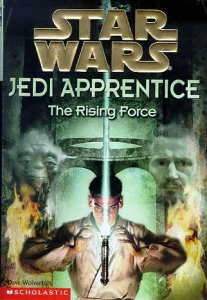Bestselling Sci-Fi/ Fantasy (2006) - The Rising Force (Star Wars: Jedi Apprentice, Book 1) by Dave Wolverton