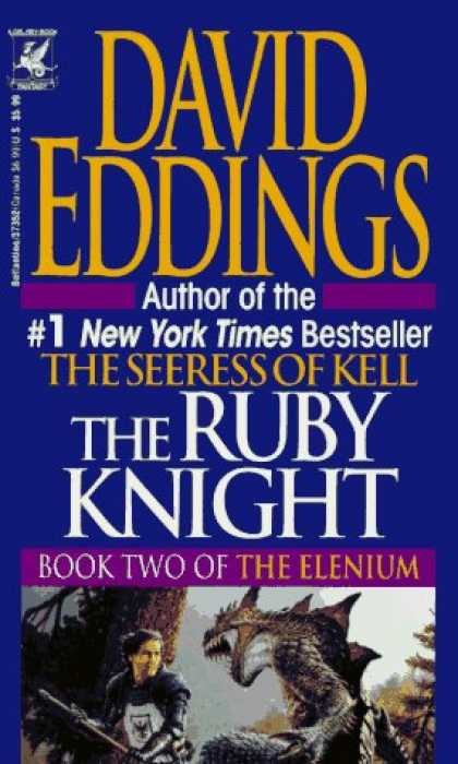 Bestselling Sci-Fi/ Fantasy (2006) - The Ruby Knight (Book Two of the Elenium) by David Eddings