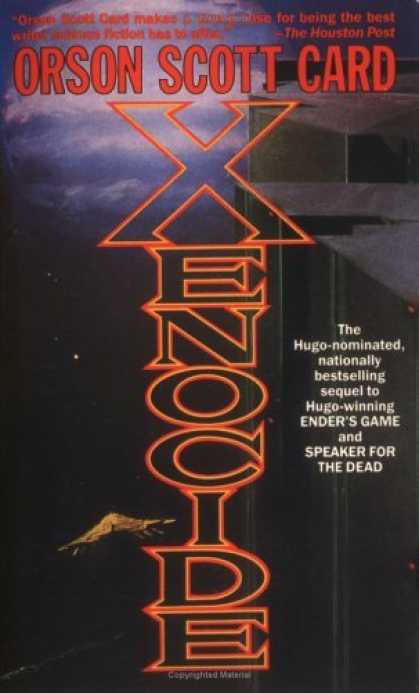 Bestselling Sci-Fi/ Fantasy (2006) - Xenocide (Ender, Book 3) by Orson Scott Card