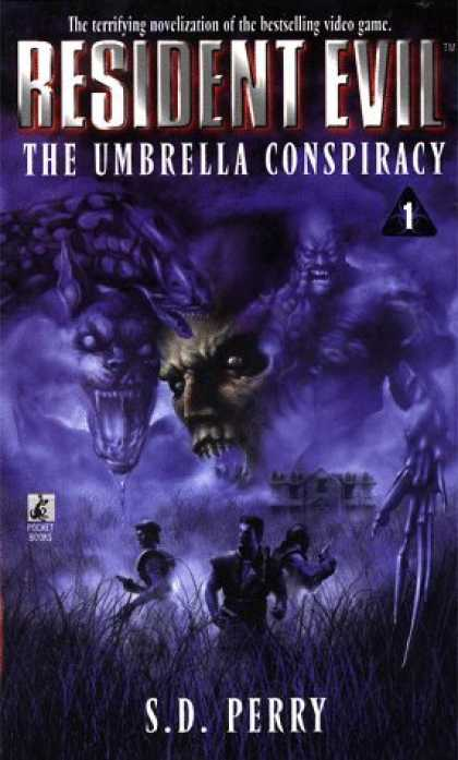 Bestselling Sci-Fi/ Fantasy (2006) - The Umbrella Conspiracy (Resident Evil #1) by S.D. Perry