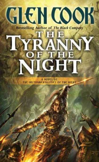 Bestselling Sci-Fi/ Fantasy (2006) - The Tyranny of the Night: Book One of the Instrumentalities of the Night by Glen