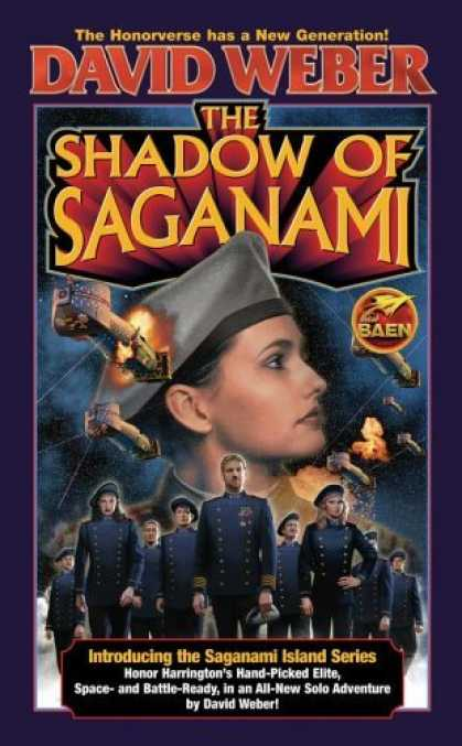 Bestselling Sci-Fi/ Fantasy (2006) - The Shadow of Saganami (The Saganami Island) by David Weber