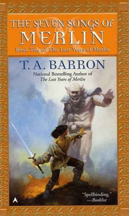 Bestselling Sci-Fi/ Fantasy (2006) - The Seven Songs of Merlin (Lost Years of Merlin, Bk. 2) by T. A. Barron