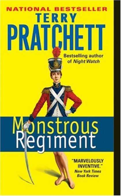 Bestselling Sci-Fi/ Fantasy (2006) - Monstrous Regiment by Terry Pratchett
