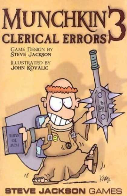 Bestselling Sci-Fi/ Fantasy (2006) - Munchkin 3: Clerical Errors by Steve Jackson