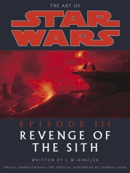 Bestselling Sci-Fi/ Fantasy (2006) - The Art of Star Wars, Episode III - Revenge of the Sith by Jonathan Rinzler