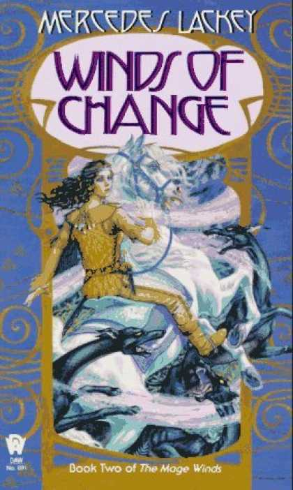 Bestselling Sci-Fi/ Fantasy (2006) - Winds of Change (The Mage Winds, Book 2) by Mercedes Lackey