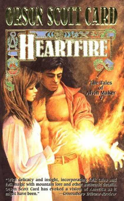 Bestselling Sci-Fi/ Fantasy (2006) - Heartfire (Tales of Alvin Maker, Book 5) by Orson Scott Card