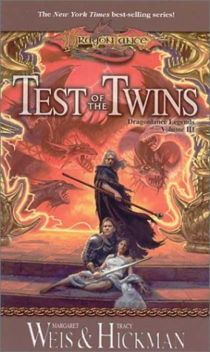 Bestselling Sci-Fi/ Fantasy (2006) - Test of the Twins (Dragonlance Legends, Vol. 3) by Margaret Weis