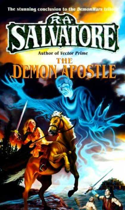 Bestselling Sci-Fi/ Fantasy (2006) - The Demon Apostle (DemonWars) by R.A. Salvatore