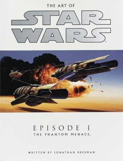 Bestselling Sci-Fi/ Fantasy (2006) - The Art of Star Wars, Episode I - The Phantom Menace by Jonathan Bresman