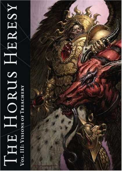 Bestselling Sci-Fi/ Fantasy (2006) - The Horus Heresy Vol. III: Visions of Treachery by Alan Merrett