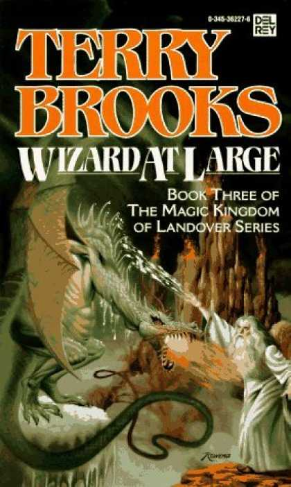 Bestselling Sci-Fi/ Fantasy (2006) - Wizard at Large (Magic Kingdom of Landover, Book 3) by Terry Brooks