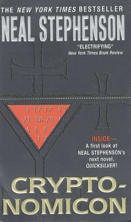 Bestselling Sci-Fi/ Fantasy (2006) - Cryptonomicon by Neal Stephenson