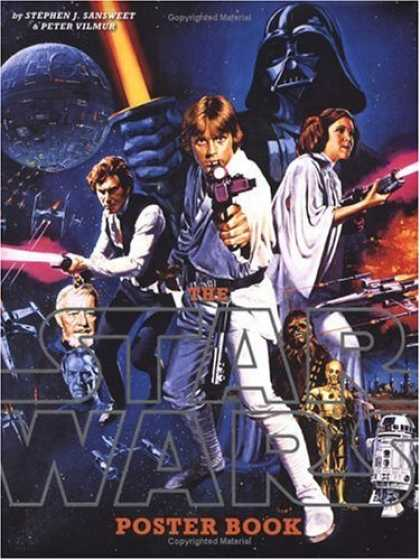 Bestselling Sci-Fi/ Fantasy (2006) - The Star Wars Poster Book by Stephen J. Sansweet