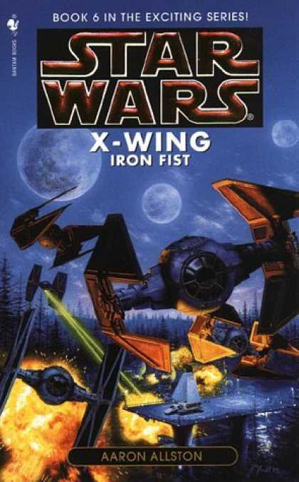 Bestselling Sci-Fi/ Fantasy (2006) - Iron Fist (Star Wars: X-Wing Series, Book 6) by Aaron Allston