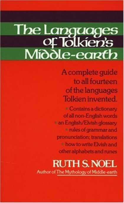 Bestselling Sci-Fi/ Fantasy (2006) - The Languages of Tolkien's Middle-Earth by Ruth S. Noel