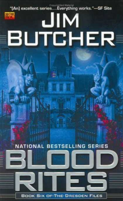 Bestselling Sci-Fi/ Fantasy (2006) - Blood Rites (The Dresden Files, Book 6) by Jim Butcher