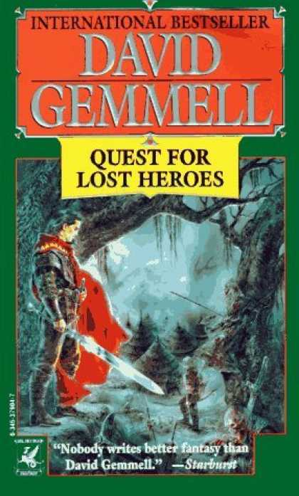Bestselling Sci-Fi/ Fantasy (2006) - Quest for Lost Heroes (Drenai Tales, Book 3) by David Gemmell