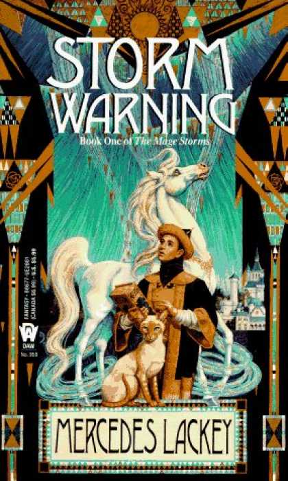 Bestselling Sci-Fi/ Fantasy (2006) - Storm Warning (The Mage Storms, Book 1) by Mercedes Lackey