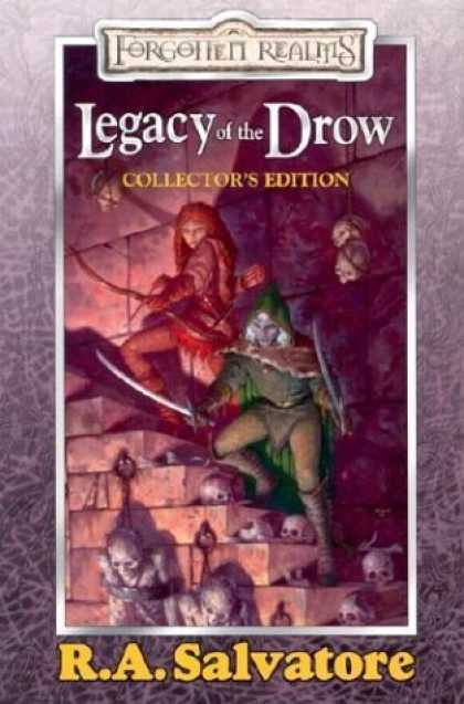 Bestselling Sci-Fi/ Fantasy (2006) - Legacy of the Drow Collector's Edition (Forgotten Realms: Legacy of the Drow) by