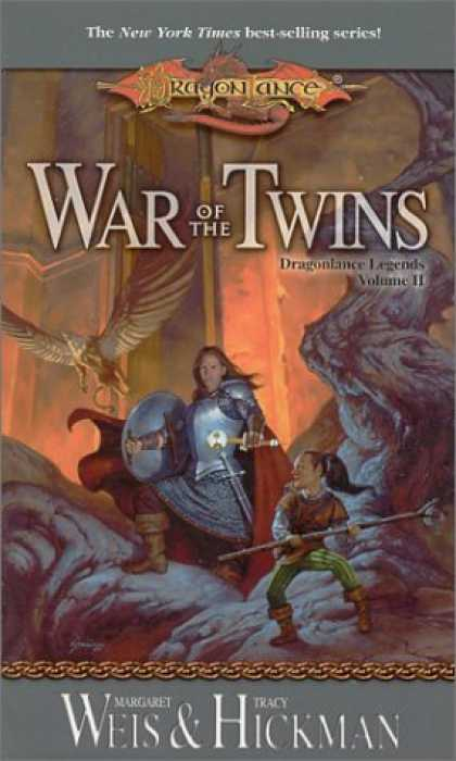 Bestselling Sci-Fi/ Fantasy (2006) - War of the Twins (Dragonlance Legends, Vol. 2) by Margaret Weis