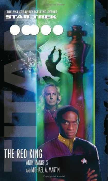 Bestselling Sci-Fi/ Fantasy (2006) - Titan, Book Two: The Red King (Star Trek: The Next Generation) by Michael A. Mar