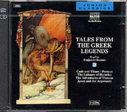 Bestselling Sci-Fi/ Fantasy (2006) - Tales from the Greek Legends (Junior Classics) by Edward Ferrie