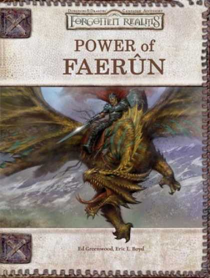 Bestselling Sci-Fi/ Fantasy (2006) - Power of Faerûn (Dungeons & Dragons: Forgotten Realms, Campaign Supplement) b