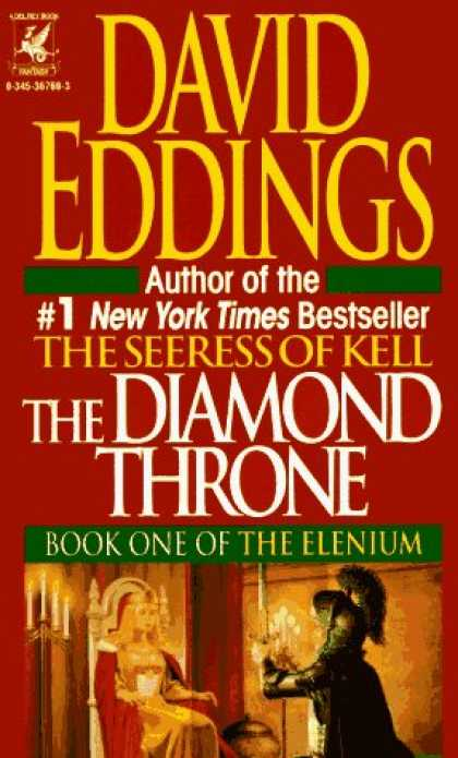 Bestselling Sci-Fi/ Fantasy (2006) - Diamond Throne (Elenium (Paperback)) by David Eddings