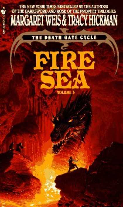 Bestselling Sci-Fi/ Fantasy (2006) - Fire Sea: The Death Gate Cycle, Volume 3 (Death Gate Cycle) by Margaret Weis
